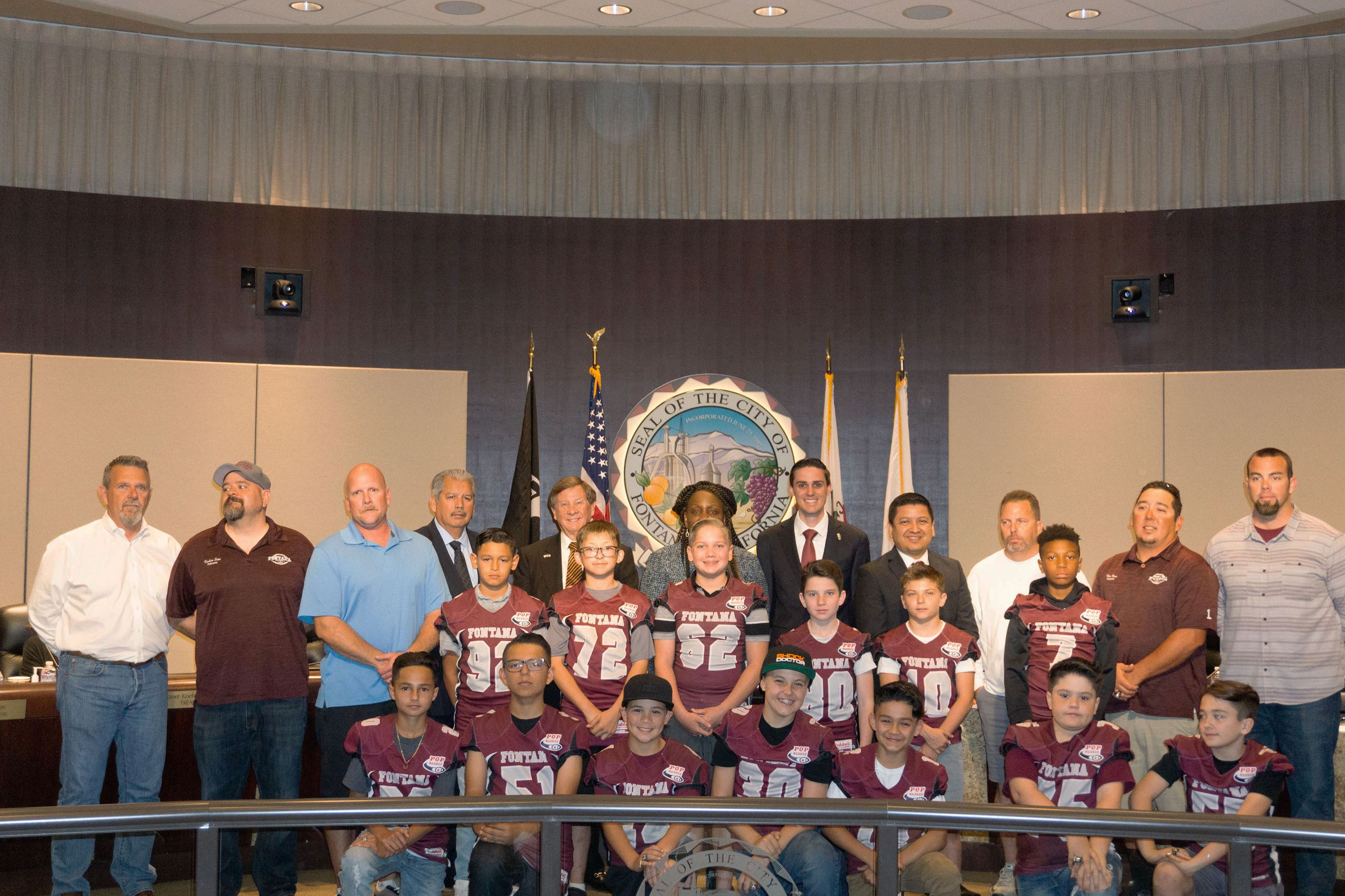 Pop Warner Football Teams