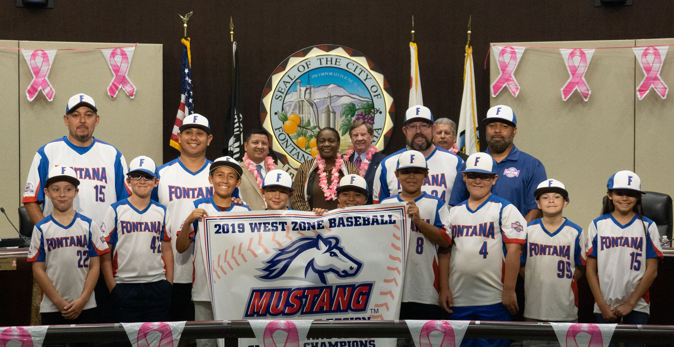 Pony Youth Baseball Leagues Recognition 2