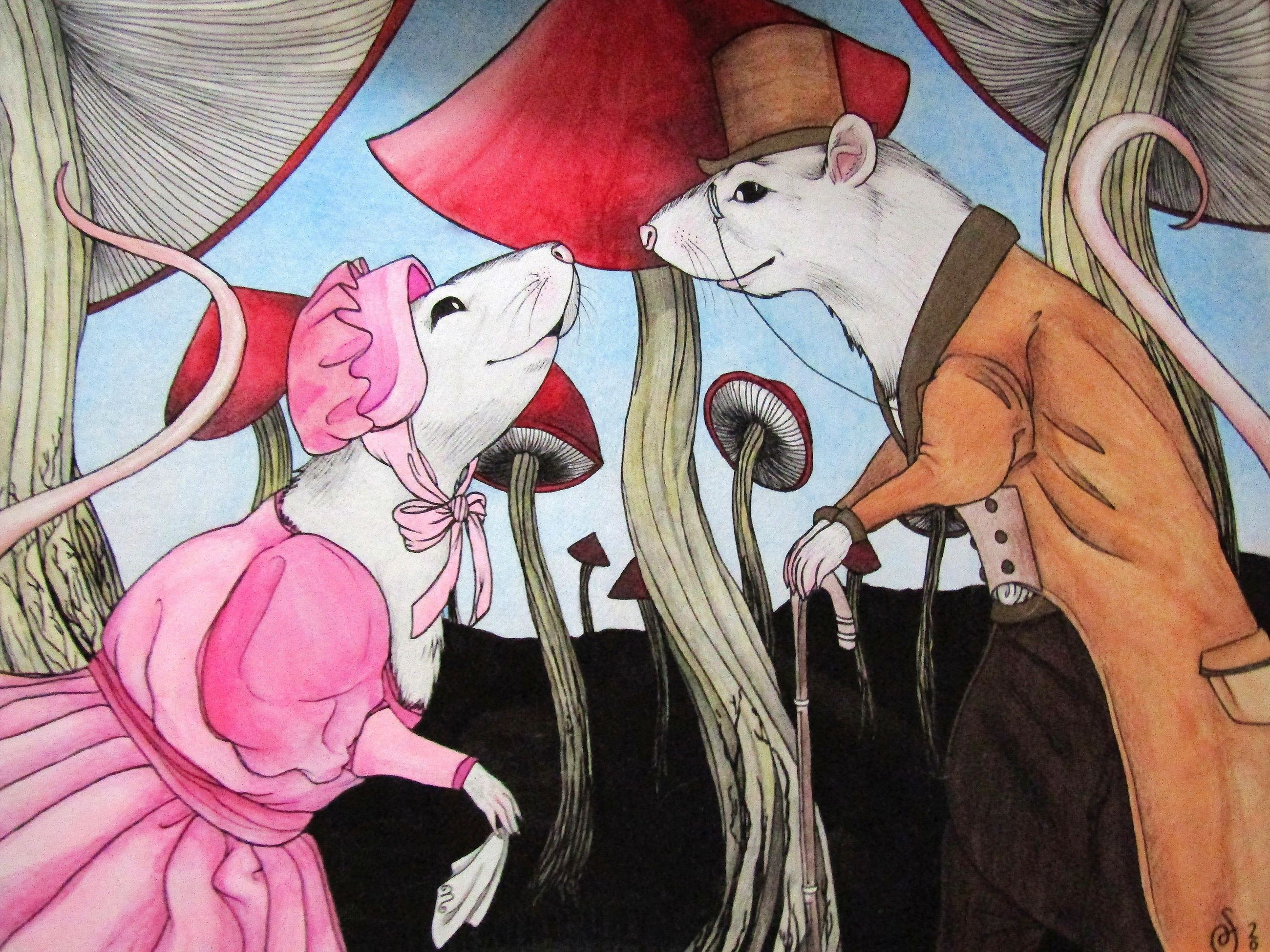 Meeting by the Mushrooms- Sara Berndt