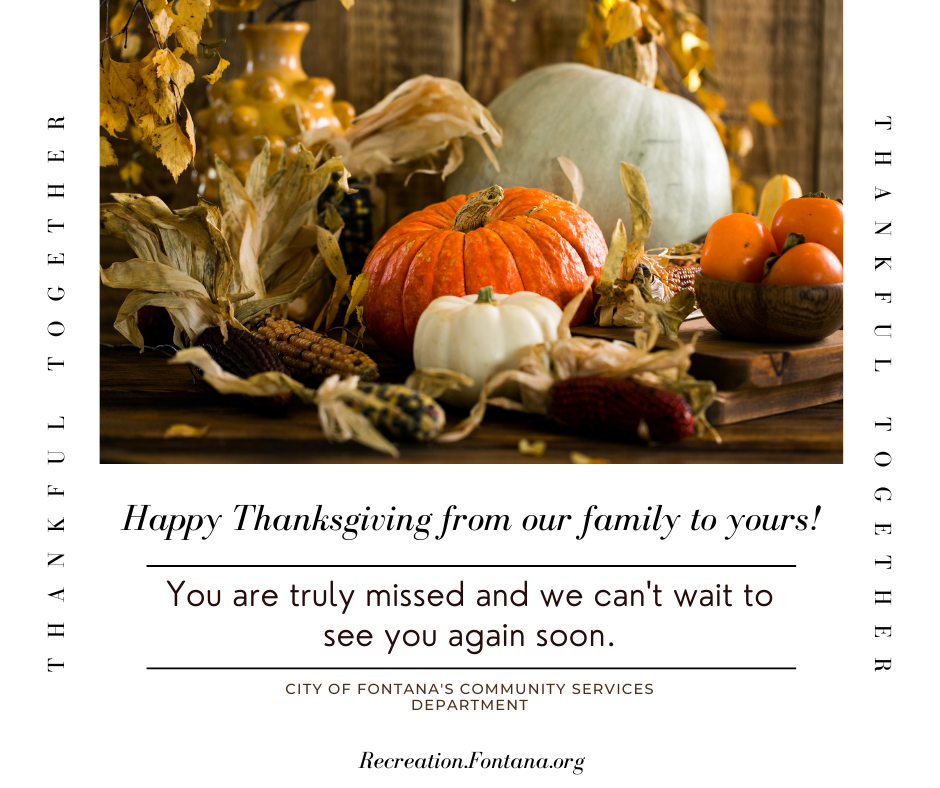 CSD Thanksgiving Greeting